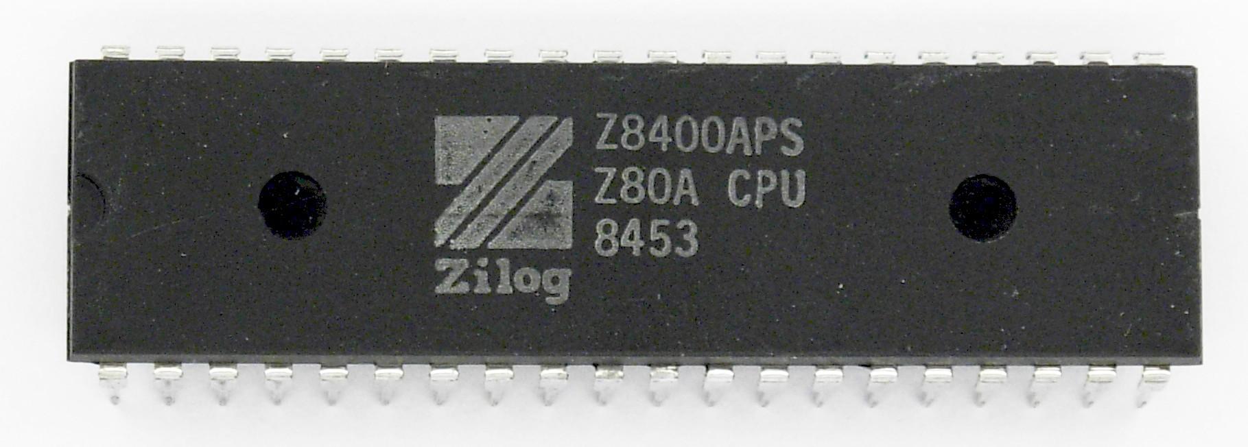 Zilog Z80A processor